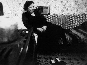 Σεβάς Χανούμ στο σπίτι της (Σταυρούπολη, φωτ. Βασίλης Μποζίκης)
