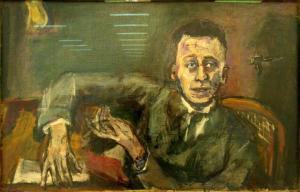 Kokoschka_Karl_Kraus_II_1925
