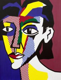 Roy-lichtenstein_lichtenstein-expressionism_portrait-of-a-woman-1979_gagosian