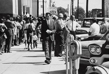 Howard Zinn in Selma, Alabama_1