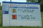 weird church sign