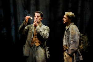 Pip Carter as Edward Thomas Shaun Dooley as Robert Frost