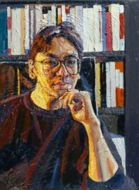 NPG 6332; Kazuo Ishiguro by Peter Edwards
