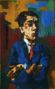 oskar kokotschka_self-portrait-with-crossed-arms-1923