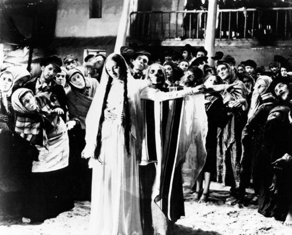 Dybbuk Yiddish film Poland 1937