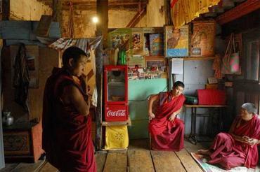 addario_bhutan monks monastery_
