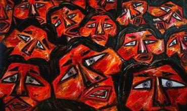 Karen Elzinga – Faces in the crowd