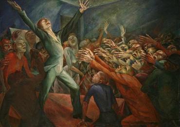 Magnus Zeller, The Orator, 1920
