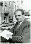 Vittorio Sereni reading abook