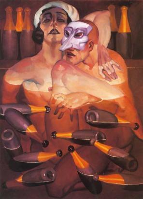 Juarez Machado, Bain de champagne, 2002