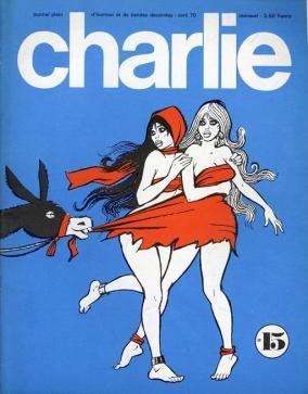 CHARLIE N°15 avril 1970 - PICHARD et WOLINSKI - PAULETTE