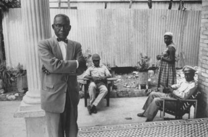 François Duvalier, May 1957, Haiti.