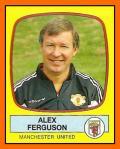 Alex FERGUSON Panini Manchester United1988