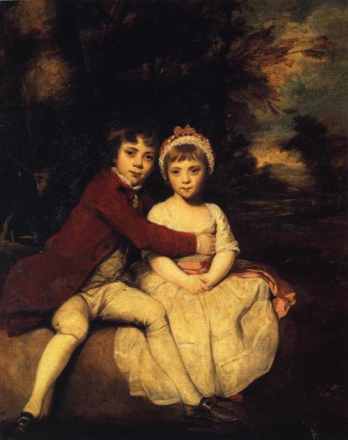2 - Joshua Reynolds - john-parker-and-his-sister-theresa-1779_