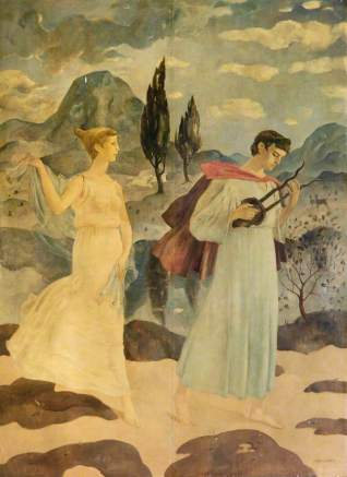 Crawford, Hugh Adam; Orpheus: The Wooing of Eurydice; Music Hall Aberdeen; http://www.artuk.org/artworks/orpheus-the-wooing-of-eurydice-106546
