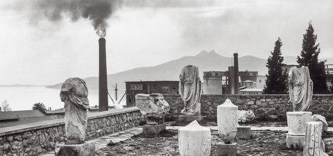 Ανδρέας Εμπειρίκος Ελευσίνα 1955