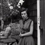 NPG x195063; Patricia Highsmith by FrancisGoodman