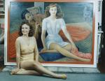 B. Diego Riviera, Portrait of PauletteGoddard