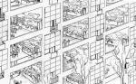 Le Corbusier- unbuilt project immeublevillas