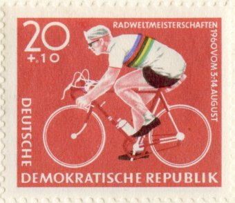 Stamp_-_GDR_20_Pfennig_-_Road_Cycling_World_Championships_1960