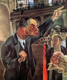 Conrad Felixmüller, The Agitator, 1920