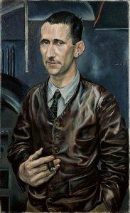 Rudolf Schlichter portrait Brecht