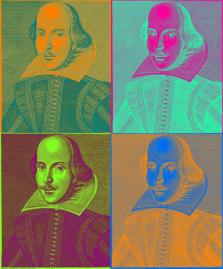 Shakespeare-pop-art
