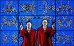 gilbert and george silvertags