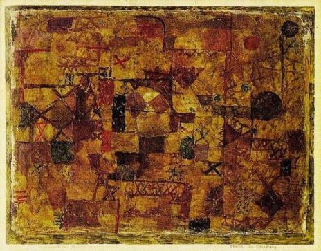 Paul Klee - Carpet of Memory 1914_