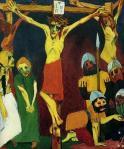 [Clio Team] 1911 1912 Emil Nolde La vie du Christ, en crucifixion 1937 Exposition nazie ArtDégénéré_