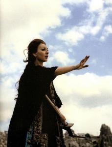 Maria Callas-Medea, Göreme (Cappadocia), giugno 1969