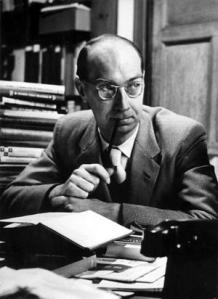 Philip Larkin, poet and author. Camera Press, London