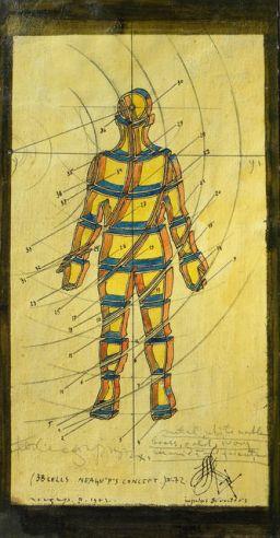 Paul Neagu - 38 Cells Neagu P's Concept, 1972