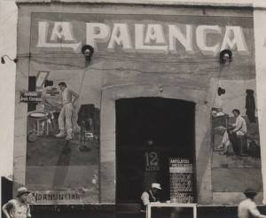Tina Modotti Mexico City's pulquería La Palanca in 1926.