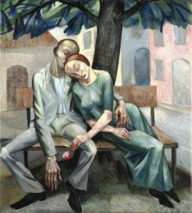 Magnus Zeller, Loving Couple, 1919