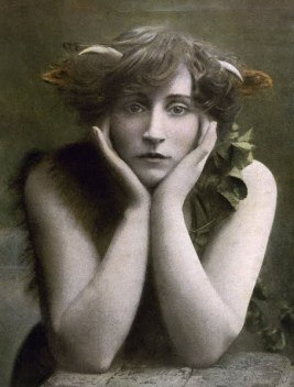 Colette in 'Le Petit Faun', 1906