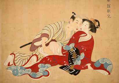 Tsukioka Settei (attribué à), Images du printemps (Shunjō Gadai), 1710-1787