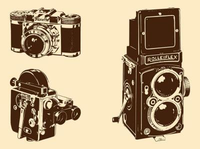 Retro-Cameras-Set