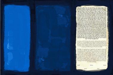 mark rothko blue-no-18-ketubah