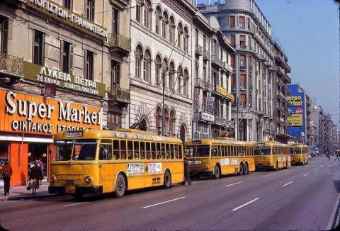Οδός Πατησίων 1979.