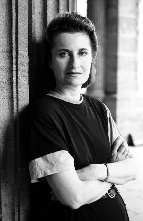 photo of Elfriede Jelinek. photo by Jerry Bauer.