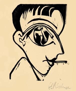 Profilkopf Selbstbildnis (1930)