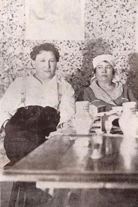 Jaroslav Hašek and his Russian wife Shura in Lipnice_
