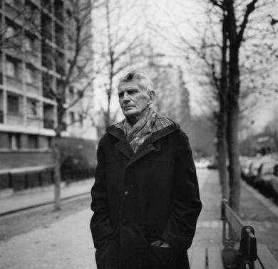 Samuel Beckett_Boulevard St Jacques_Paris_1985_