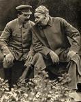 Joseph Stalin and Maxim Gorky, 1931 [Pravda,1940]_