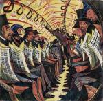 Cyril E. Power, The Tube Train,1934_